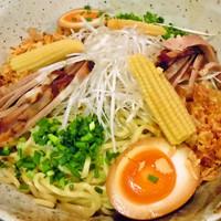 「グリーンカレーつけ麺」@麺屋 むぎのいえの写真