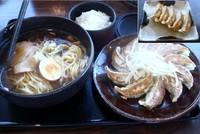 「浜松餃子とらーめんのセット」@五味八珍 メイワン店の写真