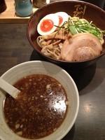 「柚子つけ麺(並) 味玉入り850」@らーめん でびっと 相模大野モアーズ店の写真
