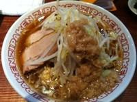 「濃厚豚骨ジパング麺 609円」@ジパング軒 宇都宮駒生店の写真