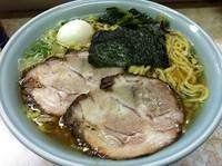 「塩ラーメン・大盛(780円)太麺」@支那そば屋 龍(Ron)の写真
