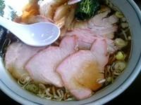 「焼豚麺大盛り」@とら食堂 松戸分店の写真