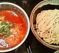 「カニトマトつけ麺 (800円)」@麺屋 一燈の写真