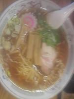 「醤油ラーメン(450円)」@中華料理 昌竜の写真
