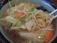 「広東麺(太麺に変更) 580円」@中華の福来軒の写真