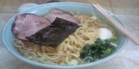 「塩ラーメン 太麺 780円」@支那そば屋 龍(Ron)の写真
