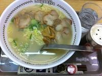 「肉入ラーメン」@スガキヤ 近江八幡イオン店の写真