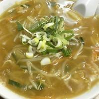「もやしラーメン(麺少なめ)\600」@やまや食堂 本町店の写真