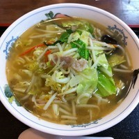 「タンメン(¥680)」@雪谷飯店の写真