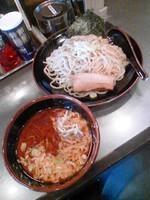 「マー油豚骨つけ麺680円」@豚骨らーめん福徳 志村店の写真