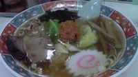 「辛しラーメン650円」@修ちゃんラーメン 山形駅前本店の写真