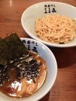 「つけめん 一番搾り」@東京煮干中華そば 三三㐂 大森の写真