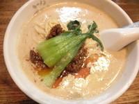 「豆乳坦々麺+青汁 「760円+無料」」@ラーメンFTO 蒲生店の写真