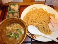 「つけ麺750円+鶏団子100円+豚団子100円」@麺屋桜木の写真