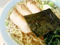 「塩 太麺(業務用チャーシュー)」@支那そば屋 龍(Ron)の写真