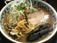 「バリバリジンジャー麺」@らー麺屋 バリバリジョニーの写真