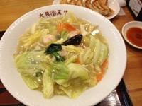 「ごちそうキャベツの大阪チャンポン(¥690)」@大阪王将 トツカーナモール店の写真
