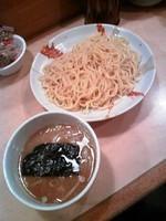 「つけ麺(大盛)700円」@つけめん 雷神の写真