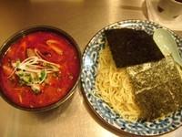 「「辛」味噌ざる 650円」@柳麺 はな火屋の写真