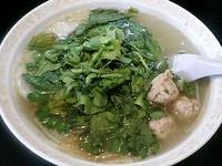 「しお菊菜らぁ麺」@らぁ麺 みつひらの写真