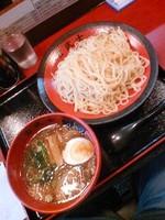 「古武士つけ麺(大盛)750円」@麺処 古武士 板橋前野町店の写真