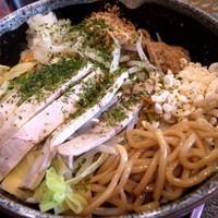 「ソース油そば(焼きそば風) 並650円」@麺屋 松尾の写真