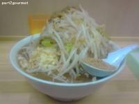 「豚ラーメン・ニンニクアブラ、魚粉乗せ!」@らーめん 武丸の写真