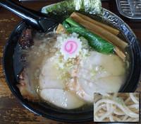 「裏裏らぁめん(鶏)¥600」@麺屋 猪貴 -CHOKI-の写真
