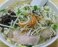 「塩麺 750円」@らー麺屋 将の写真