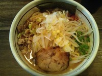 「林檎堂の中華そば 750円」@つけ麺 APPLE BASICの写真