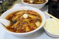 「天鳳麺800円+半ライス150円」@天鳳の写真