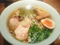 「鰮鶏らぁーめん(醤油) 700円」@喜元門 つくば研究学園店の写真