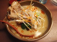 「信州味噌タンタン麺750円(クーポンでチャーシュー1枚無料)」@麺場 龍吟の写真