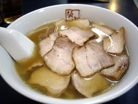 「焼豚ラーメン(ネギ抜き)、850円」@喜多方ラーメン 坂内 練馬店の写真