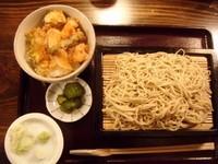 「せいろ+バラ天丼 750+380円」@深川 萬寿庵の写真