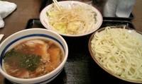 「つけ麺(650円)+野菜増し(100円)」@東池袋大勝軒直伝 金太郎 綱島店の写真