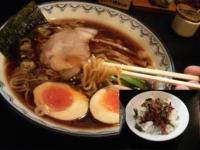 「味玉そば(+地鶏丼)」@麺屋 いっこくの写真