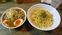 「ねぎつけ麺(900円)+味付け玉子(100円)」@藍華の写真