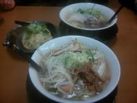 「支那そば野菜麺(塩) 780円」@らーめん専門 支那そば屋 三馬店の写真