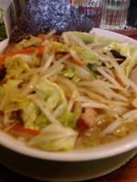 「野菜たっぷりラーメン」@ラーメンショップ椿 猪苗代店の写真
