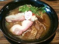 「武士系らーめん冬の陣 ~味噌の章~(750円)」@麺屋ZERO1 恵比寿東口店の写真