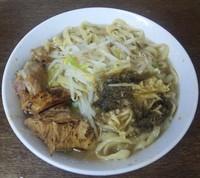 「小らーめん(炙り豚・海苔・生姜):700円」@蓮爾 さんこま店の写真