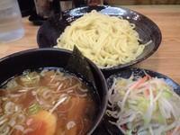 「つけ麺中盛り+野菜(680円+150円)」@つけ麺 きくちゃんの写真