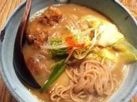 「もつそば(大盛)」@和醸良麺 すがりの写真