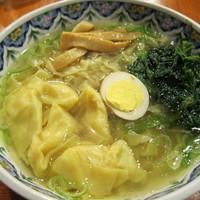 「エビワンタン麺(880円)」@中国ラーメン 揚州商人 流山店の写真