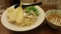 「大キス天ぷらカレーつけ麺 1200円」@築地虎杖 裏店の写真