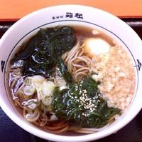 「めかぶ(¥400)」@名代 箱根そば 蒲田店の写真