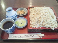「もりそば(530円)+大盛り(100円)」@やぶそばの写真