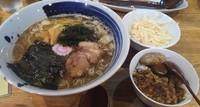 「ムーリー麺+ミニカレー」@礼三の写真