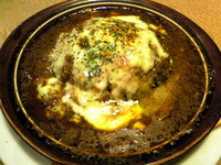 「焼きチーズハンバーグカレードリア¥880」@デニーズ 浅草国際通店の写真
